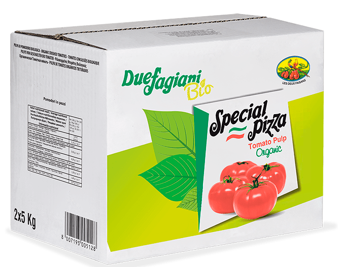 Steriltom products organic tomato pulp